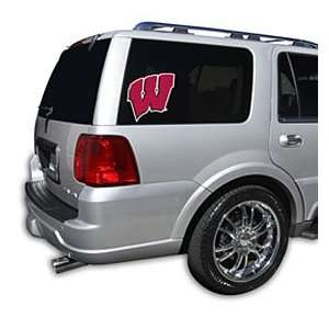 Wisconsin Badgers Die Cut Window Film   Small  Sports
