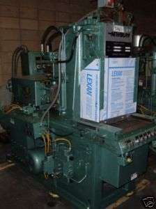 30 Ton, 4 oz. NEWBURY Vertical Injection Molding Machine
