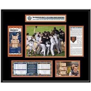 San Francisco Giants 2010 World Series Champions Ticket