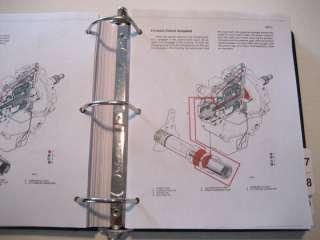 CASE 580K Loader Backhoe SERVICE MANUAL Book (PHASE 1)
