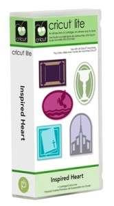 CRICUT Lite Cartridge   Inspired Heart   2000547