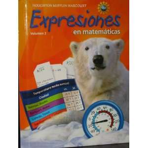 Math Expression, Grade 4 Student Activity Book: Houghton