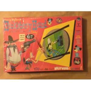 Huckleberry Hound Animated Cartoon Cel Painting Kit Toys