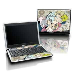 Flappers Design Protective Skin Decal Sticker for DELL Mini 10 Laptop