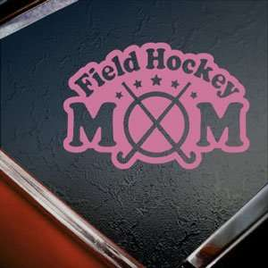 Field Hockey Mom Pink Decal Car Truck Window Pink Sticker