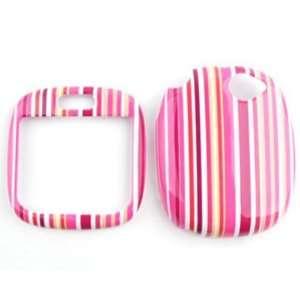 Sharp Kin 1 Pink/Orange Stripes Hard Case/Cover/Faceplate