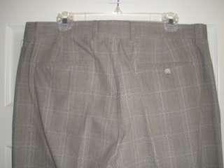 MENS BANANA REPUBLIC MODERN FIT BEIGE BROWN DRESS PANTS SZ 35/32