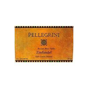 Pellegrini Family Vineyards Zinfandel Eight Cousins Vineyard 2008