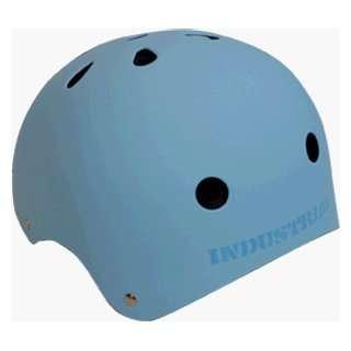 INDUSTRIAL flat light blue HELMET SM