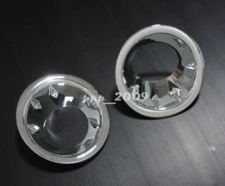 You are bidding on 1 pair of CHROME FOG LIGHT COVERS