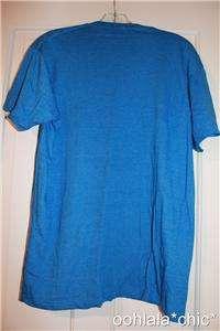 PAC MAN Pacman Video Game Nom Nom Nom Blue Tee T Shirt