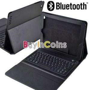 Foldable Leather Case Stand with Wireless Bluetooth Keyboard for New