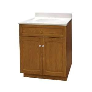 Foremost HEO2418 Heartland 24 Inch Oak Vanity with Top