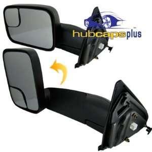 MIRROR POWER/HEAT FOLDOUT FLAT WITH TOW (NEW BODY STYLE) Automotive