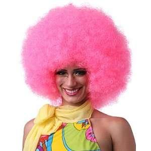 CHARACTER Jumbo Clown Wig (Hot Pink) Beauty