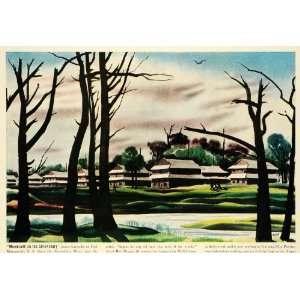 Jersey River Woods Bob Majors   Original Color Print: Home & Kitchen