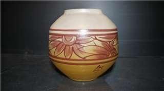 LEGRAS French Art Deco Modernist Enamelled Vase c1920