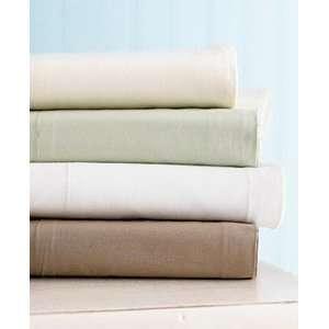 Martha Stewart Bisque Flannel Full Sheet Set Ivory