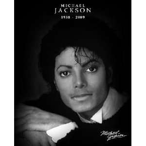 Michael Jackson Memorial Pop Music Poster 16 x 20 inches