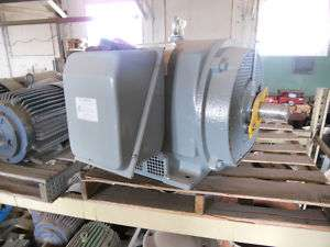 150 HP General Electric Motor 1750 RPM 460V ODP 444TS