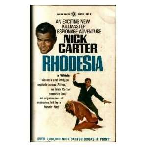 Rhodesia (Killmaster, Book 40) Nick Carter Books