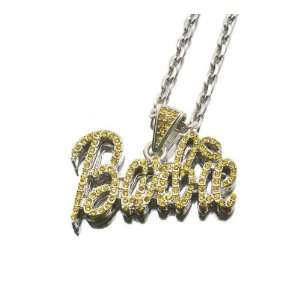 NEW NICKI MINAJ BARBIE Pendant w/18 Chain Silver Small