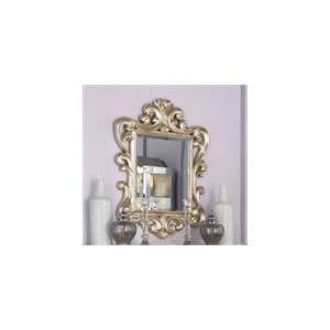 American Drew Jessica McClintock Silver Leaf Accent Mirror