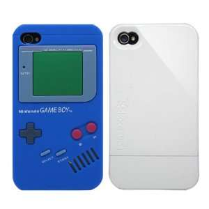 2pcs Set Nintendo Game Boy Silicone Case Blue + KoreTech