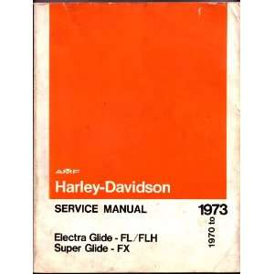 Glide FL/FLH Super Glide FX 1970 to 1973: AMF:  Books
