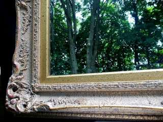 Large Wall Gold Gilt Mirror Rare Retro Vintage Antique