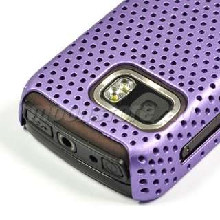 HARD MESH CASE COVER POUCH FOR NOKIA 5800 XM PURPLE