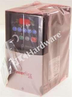 * Allen Bradley 22B D010N104 /A PowerFlex 40 AC Drive 4kW/5HP 2011