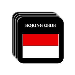 Indonesia   BOJONG GEDE Set of 4 Mini Mousepad Coasters