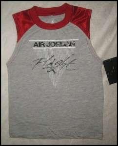 NWT Nike Air Jordan Boys Set Shirt Shorts Sz.3T