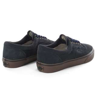 RARE VANS ERA AUTHENTIC SUEDE DARK SHADOW GUM GREY SHOES SNEAKERS