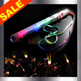 Color LED Flashing Glow Wand Light Sticks PARTY FAVOR