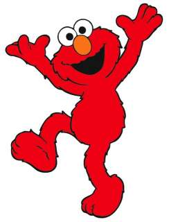 NEW Sesame Street Elmo Iron On Transfer 8x10 LOOK #3