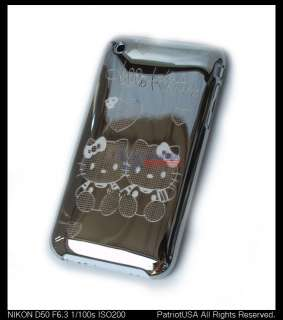 iPhone 3G 3GS Hello Kitty Designer Case + Screen guard