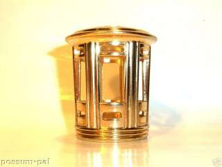 Large Shade Crown Catalytic Fragrance Lamp Gold Pagoda