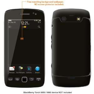 Protective Decal Skin STICKER for Blackberry Torch 9850