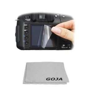 , Olympus cameras + 1 Ultra Fine Microfiber Cleaning Cloth GOJA Logo