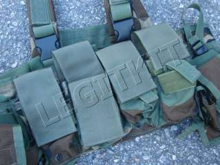 Bridge LBT 1961A AF Version Woodland Navy SEAL DEVGRU Chest Rig