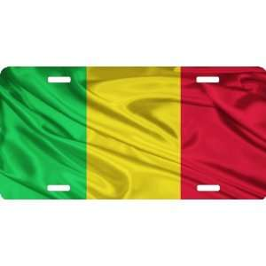 Rikki KnightTM Mali Flag Cool Novelty License Plate