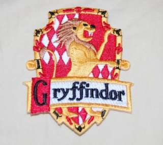 Gryffindor Harry Potter House Crest Patch
