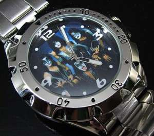 NEW Rotating Bezel Watch / KISS Army Rock Band #2