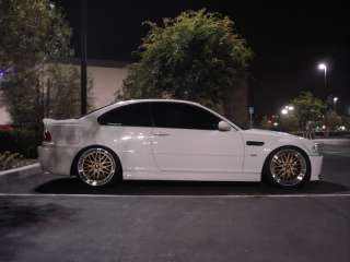 LM STYLE RIM WHEEL** 18X8 18X9 5X120 +35 GOLD MACHINED LIP FIT BMW E90
