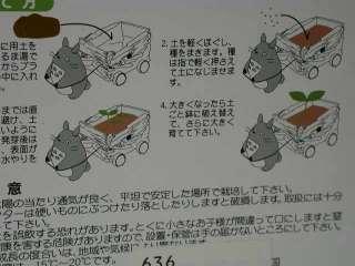 Totoro & mini cart gardening set/ My neighbor Totoro Studio Ghibli