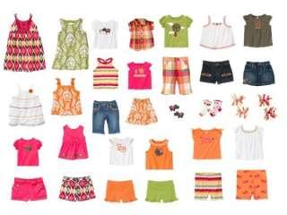 Gymboree Batik Summer Tops Shorts Dresses 2 3 4 & 5 NWT
