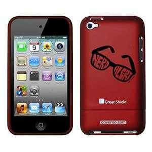 Nerd Alert by TH Goldman on iPod Touch 4g Greatshield Case
