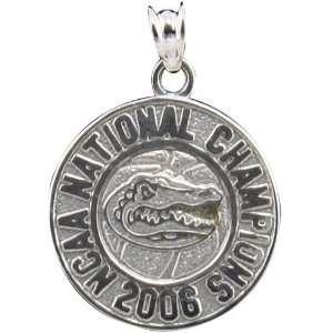 Florida Gators Sterling Silver 2006 NCAA Basketball Championship Charm